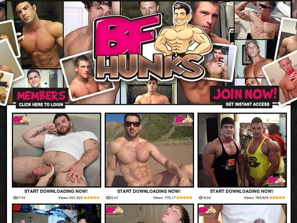 BF Hunks Join Discount