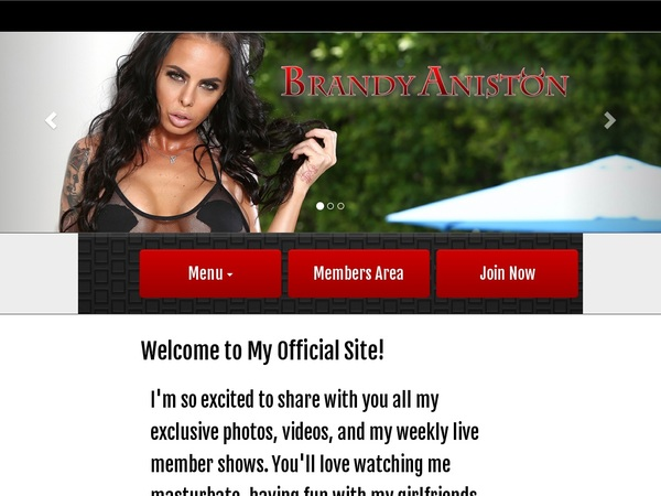 Brandy Aniston Password Username