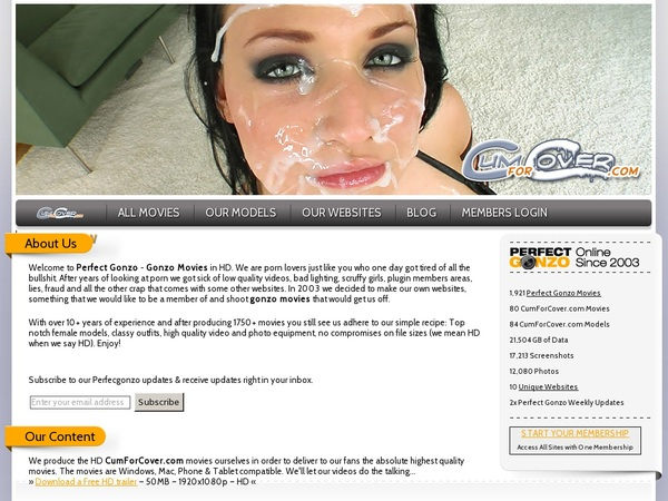 Cumforcover Paypal Access