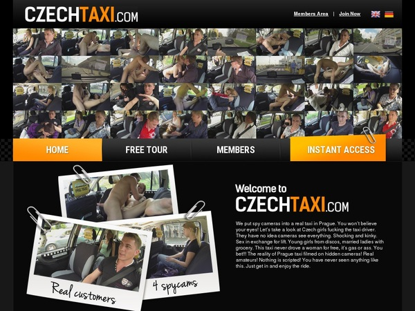 Czech Taxi Paypal Sign Up