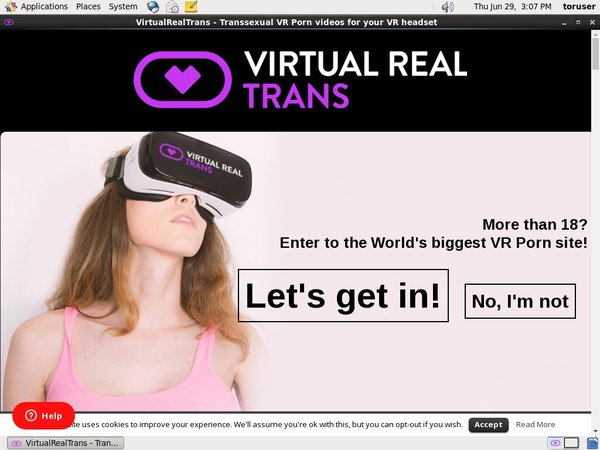 Free Virtual Real Trans Premium Passwords