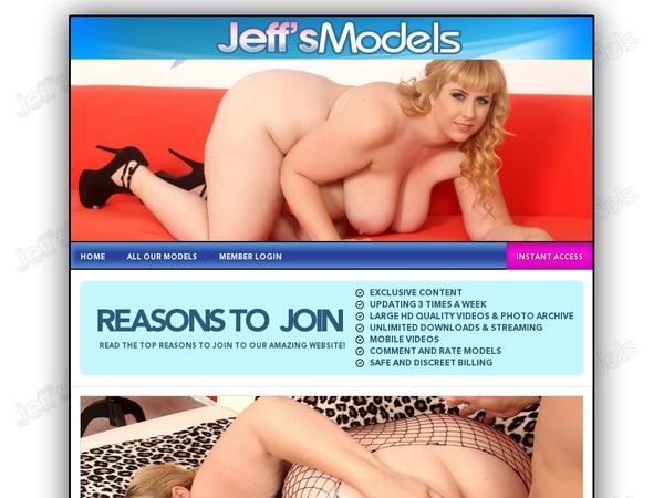 Jeffsmodels Site Passwords