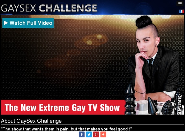 Join Gay Sex Challenge