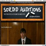 Sordid Auditions V2 New Password