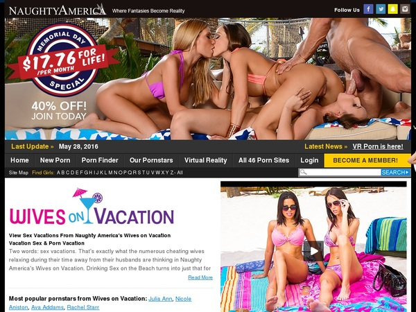 Wivesonvacation.com Discount Deal