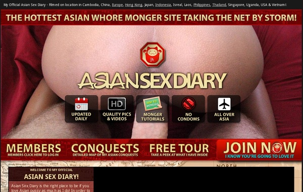 Fre Asiansexdiary.com Login And Password