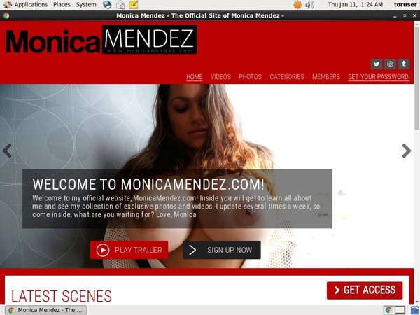 Monica Mendez Discount Checkout
