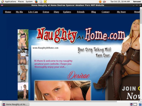 Naughtyathome.com Limited Time Offer