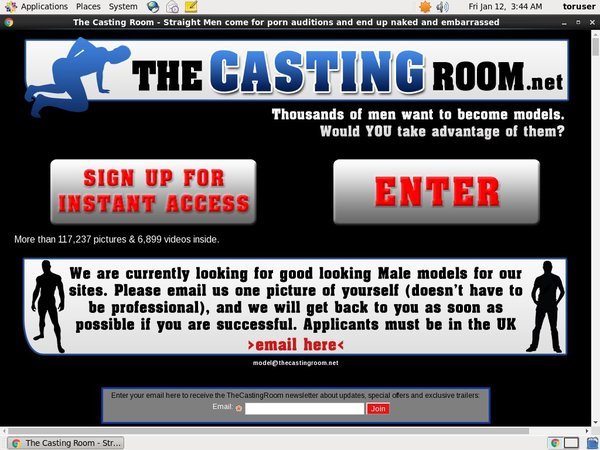 The Casting Room Login And Password